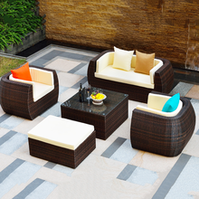 rattan wicker luxury modern sofas outdoor furniture,used rattan sofa for sale,synthetic rattan sofa