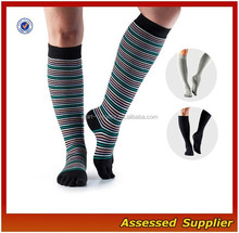 Customize Men's 5 Toe Non Slip Yoga Socks/Extra Long Yoga Pilates Socks /Men's Leg Warmers---AMY12032