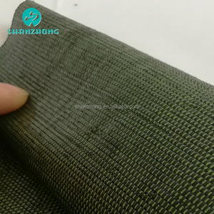 Uvioresistant carpet backing not by circular weaving machine