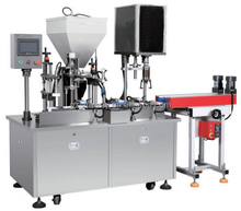 Automatic Face Cream Filling Capping Machine for Bottles
