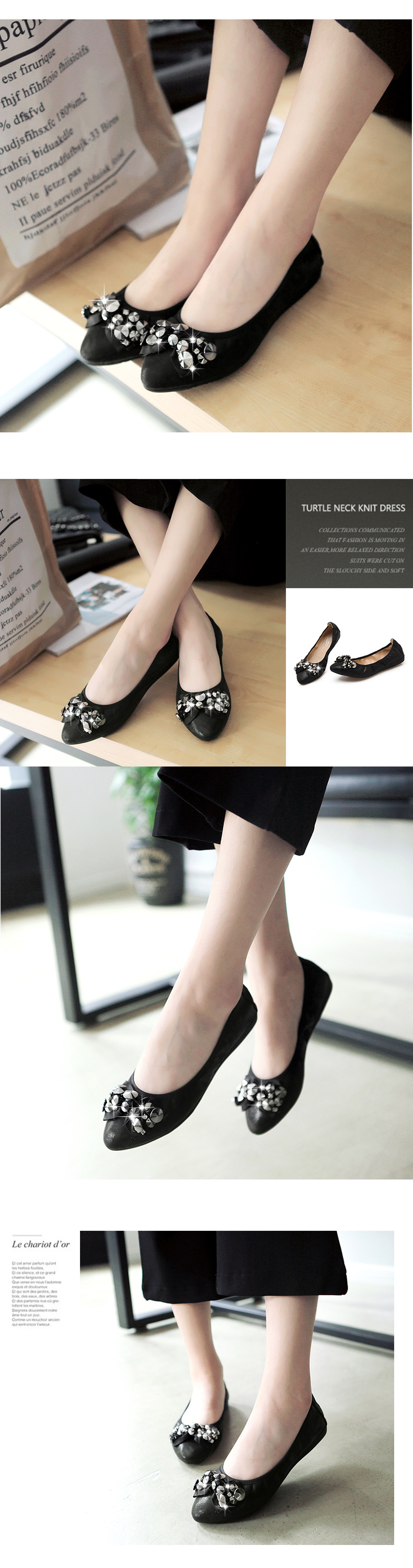 2017 High quality gold jelly shoes flat for women