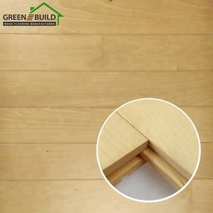 China Supplier Professional Gym Basketball Court Used Maple Wood Sports Flooring