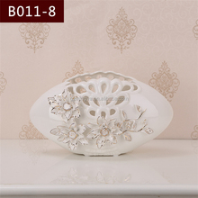 Wholesale home decoration items from China special polished classical ceramic flower vase small flower pottery