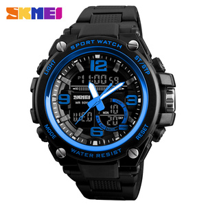 2019 SKMEI G Style Fashion Digital-Watch Mens Sports Watches Army Military Wristwatch Erkek Saat Shock Resist Clock Quartz Watch