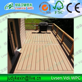 WPC decing floor from Qingdao