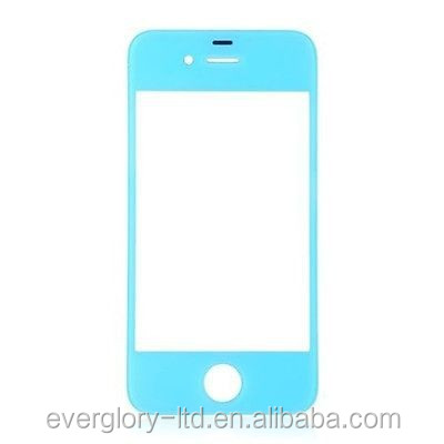 8 Color Front Screen Outer Glass Lens Cover Replacement For Apple iPhone 5S 5C