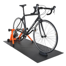 Indoor Exercise / Bike Trainer Equipment cheap PVC material exercise mats