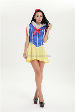Sexy Women Snow White Dress Costumes Cosplay Uniform HALLOWEEN Party