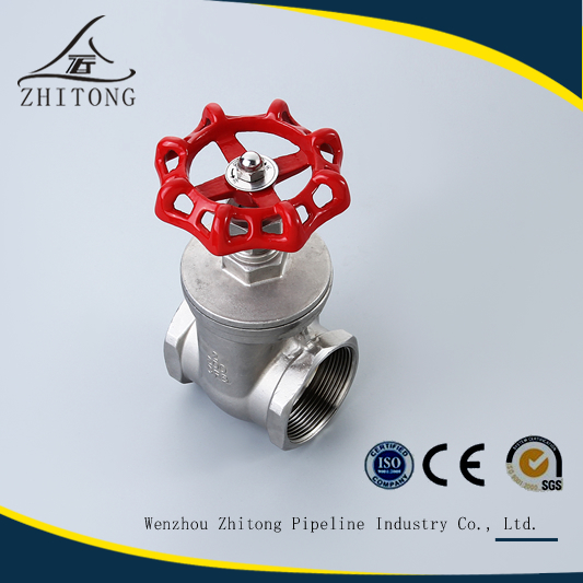 wenzhou factory CF8/CF8M pn16 200wog stainless steel gate valve