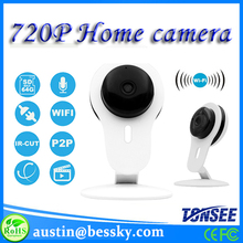 HD Camera Wifi 720P Pan And Tilt Wifi Camera Home Security Robot Camera Wireless Alarm System Baby Monitor