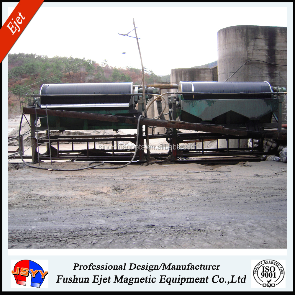 CTS1030 magnet sorting machine magnetic separation of iron ore