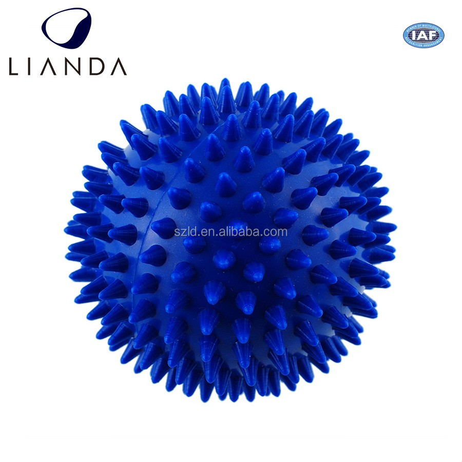 fitness spiky massage ball,handheld massage ball,health care stress relief products roller ball