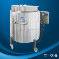 CE 2015 China best cosmetics, chemicals packing Heating function stainless steel storage tank price