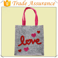 factory wholesale sales hand made felt bags