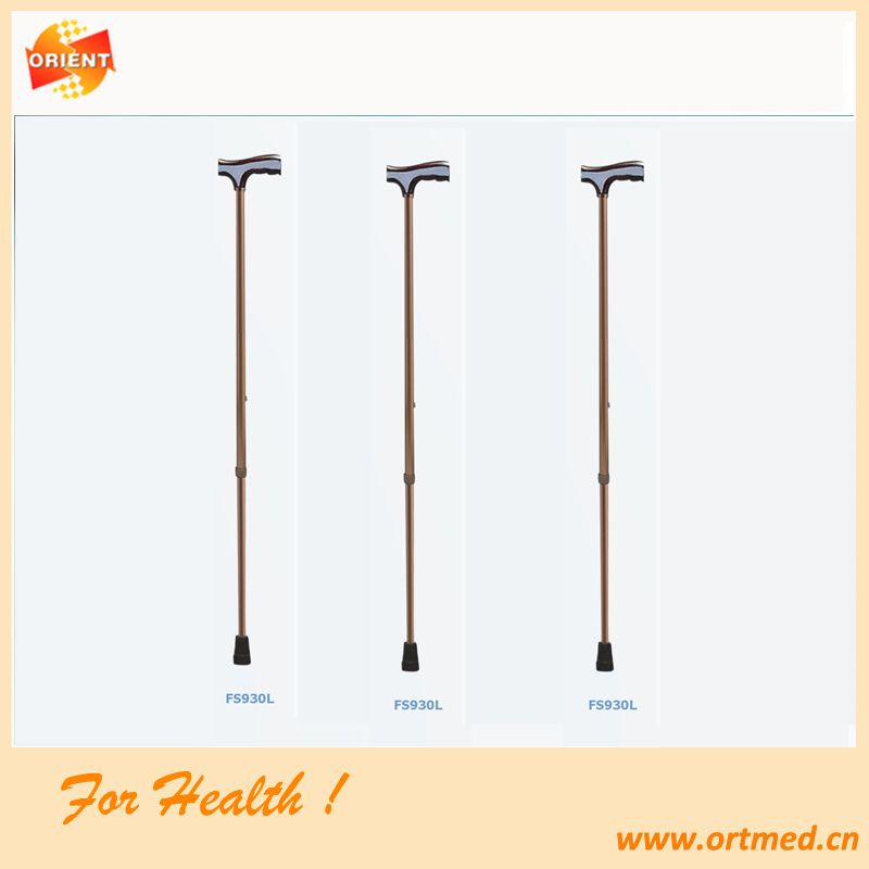 Height adjustable walking stick cane for disabled