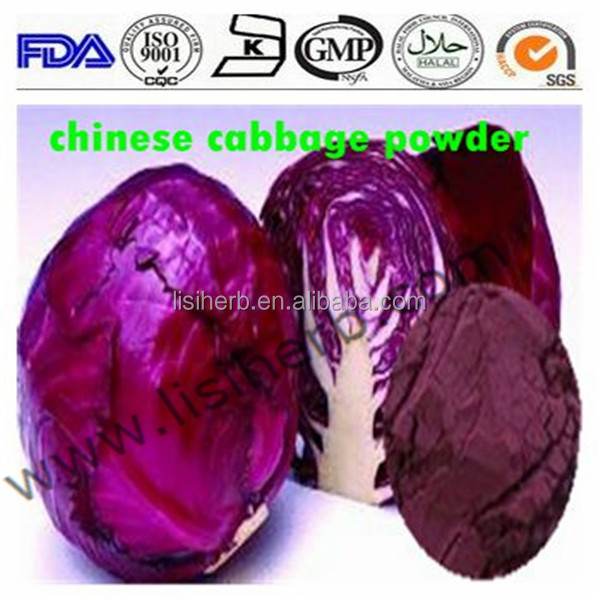 Vegetable Powder Purple Cabbage extract Powder