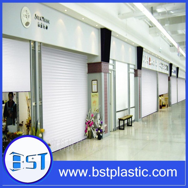 extrusion clear plastic rolling door for furniture