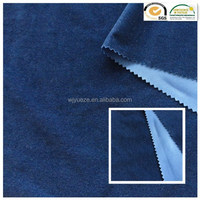 polyester brushed micro twill fabric weave garment fabric