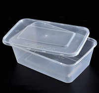 Disposable plastic microwave container