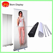 Scroling poster banner customized stand roll up aluminum alloy
