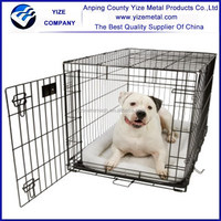 Metal frame dog house welde wire mesh with all accessoire