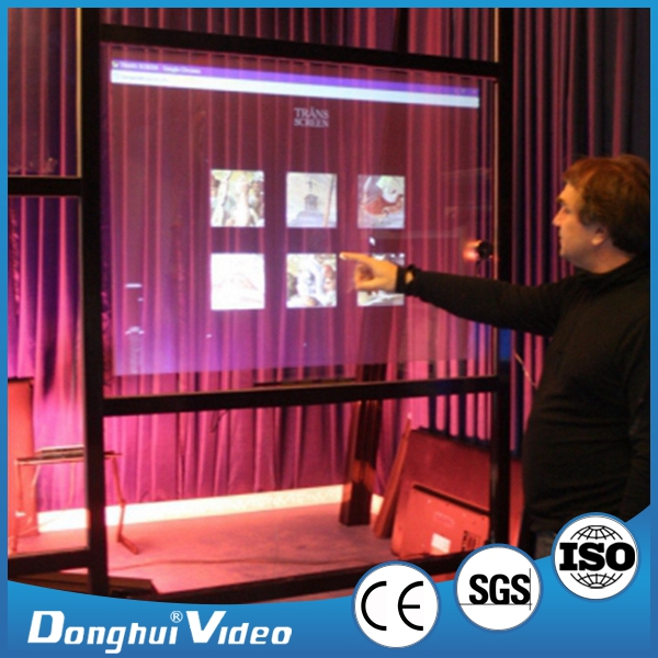 Professional manufacturer 3d holographic rear projection screen film with different colors