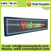 Free shipping CE and RoHS passed car led scrolling message with rgb full color and IP65 waterproof