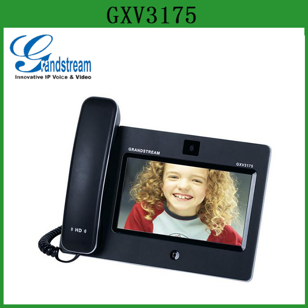 Grandstream skype video phone wifi GXV3175