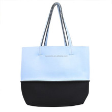 Customized size legerity neoprene shopping bag beach bag shoulder bag for travel/hiking