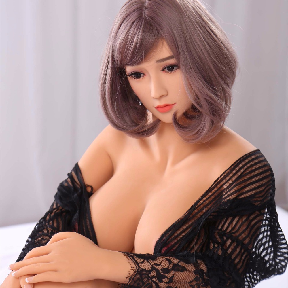 2017 Newest Full TPE real love doll 165cm Solid Silicone Sex Doll