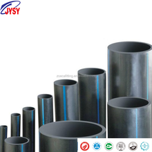 HDPE100 high density polyethylene black plastic water supply pipe