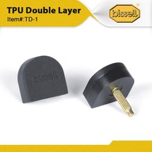 TD-1 BISSELL Double Layer Black Heel Tips, Comfortable, Nioseless,Shoe Repair Material from BISSELL