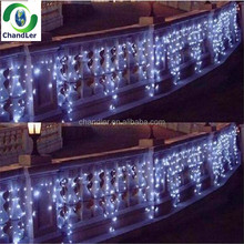 Led Curtain lights AC220V led Icicle lights 4M 144Leds led String lights