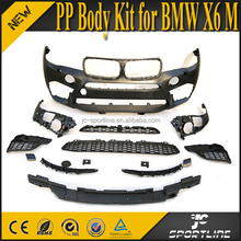 X6 M PP Auto Full Bodykits with Exhaust Systems for BMW X6