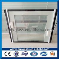2017 New Design part Max Size 2800*6800mm 5mm louver glass