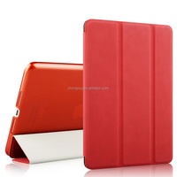 Luxury leather folio cover case for Apple iPad mini 4 tablet Protector for iPad mini 4 Smart Cover