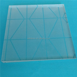 Good Quality Silk-Screen Printing Ultra Clear Glass Light Cover Tempered Glass