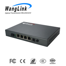 High compatibility EPON 4 PON POE ONU gpon and gepon