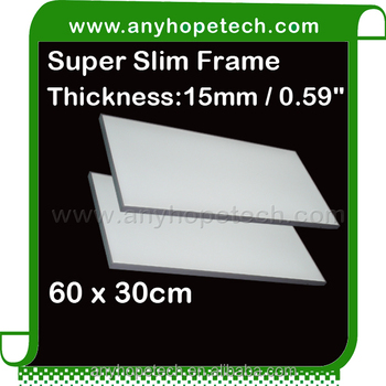 Cheap price embedded 60 30cm 24 wtt dc24v flexible led panel film