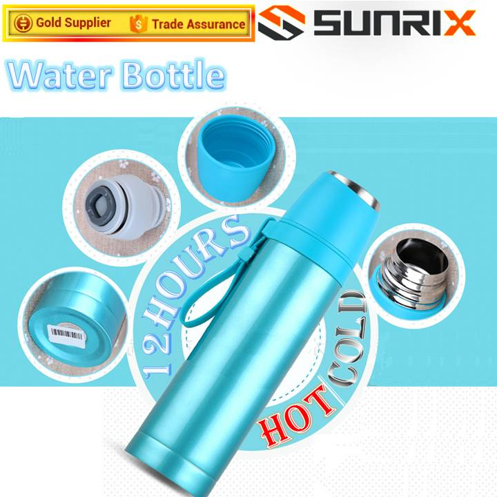Protein Shake Water Bottle With Lid Cup