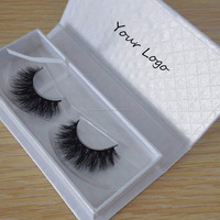 Hot styles Real material dense mink eyelashes custom eyelashes