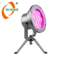 High quality stainless steel 27W RGB DMX projector light night light for pool