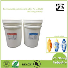 Yellowing resistance clear transparent liquid epoxy resin glue for surfboards (Direct factory)