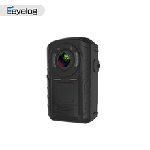 15 hours h265 gps body worn camera police camera 360