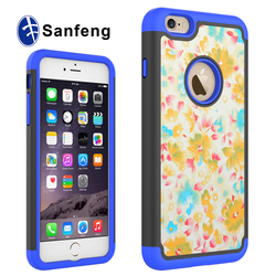 High quality plastic blank mobile cover for iphone 6 plus 5.5' Heat press phone case for iphone 6s/6s plus