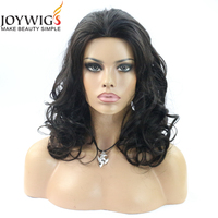 Super Wave Natural Girls Hair Wig Beautiful And Very Cheap Natural Color Brazilian Human Hair Lace Front Wig