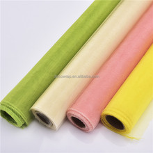 Cheap Nylon Sheer Snow Organza Fabric Rolls - Sheer snow organza wholesale