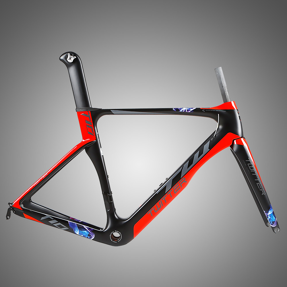 Nice T900 Carbon Road Frame With Reflecting Function - Buy Carbon ...