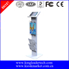 Secure trade show iPad kiosk stands for digital display use