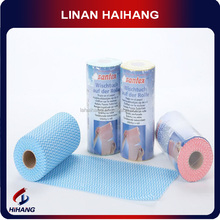 Wave water absorbent nonwoven material